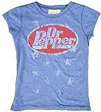 Famous Forever–Camiseta de mujer azul Official Dr Pepper personalizada retro vintage azul 40