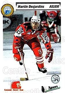 (CI) Martin Desjardins Hockey Card 1993-94 Swiss HNL 424 Martin Desjardins