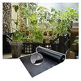 RT-OSXE 0.5mm Fischteichfolie, Gummi Reißfest Teichfolien, Faltbar Undurchlässige Membran für Indoor Blumentopf Schwimmbad, Anpassen (Color : Black (0.5mm), Size : 5mx6m)