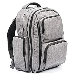 top 10 oversized diaper bags Large Capacity Diaper Bag Backpack-YKK Zipper, 2 Packing Cubes, Wet / Dry Bag, Replacement …