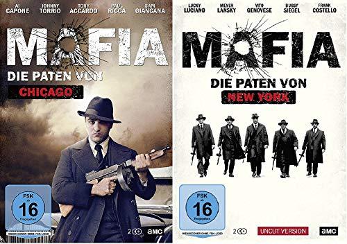 Mafia - Die Paten von Chicago + Mafia - Die Paten von New York [DVD Set]