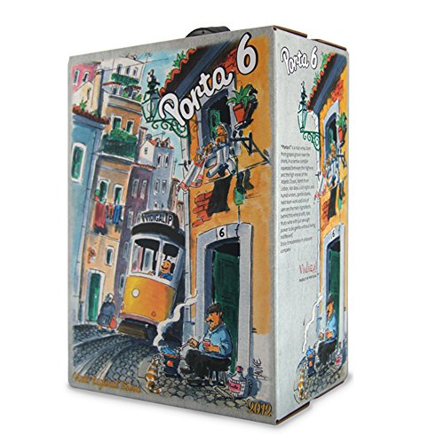 Porta 6, Rotwein trocken (Lisboa, Portugal) Bag-In-Box (1 x 3 l )