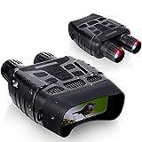 暗視スコープ Hollee 赤外線スコープ ナイトスコープ ナイトビジョン ナイトスコープ 暗視カメラ 赤外線望遠鏡 デジタル暗視鏡 光学固定倍率10倍 デジタルズーム4倍 赤外線 双眼鏡 IPX56 300m/984ft 1280*960p hd 32gbメモリ対応 写真 撮影 録画できる 昼夜兼用 狩猟 夜間調査 写真撮影 野生生物 学校音楽会 無期限保証付き 日本語説明書付き