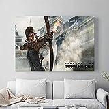 ganlanshu Juego póster de Pared Lienzo impresión Pintura Moderna Imagen de Arte Sala decoración Pintura,Pintura sin marco-30X45cm