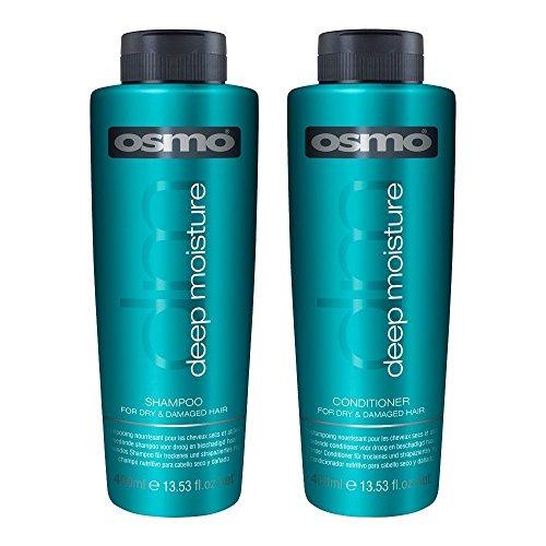 OSMO Tief Feuchtigkeit Haar Shampoo & Conditioner 400ml Professional Home & Salon