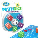 ThinkFun Math Dice Junior Game for Boys and Girls Age 6 and Up -...