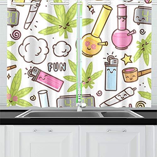 cortinas baño marihuana