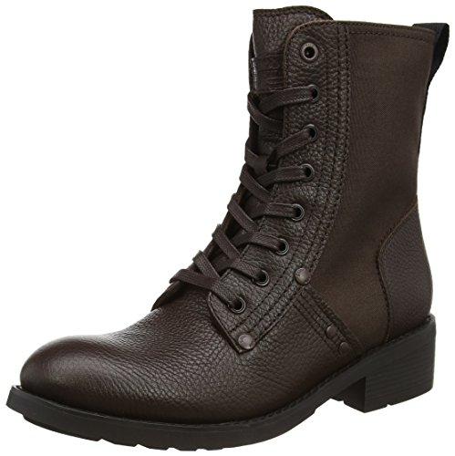 G-STAR RAW Damen Labour Combat Boots, Braun (Dk Brown), 39 EU