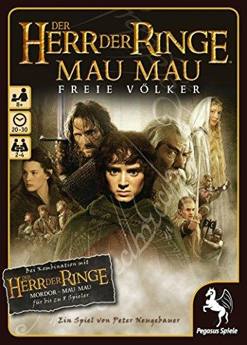 Pegasus Spiele 18121G - Herr der Ringe MauMau, Freie Völker