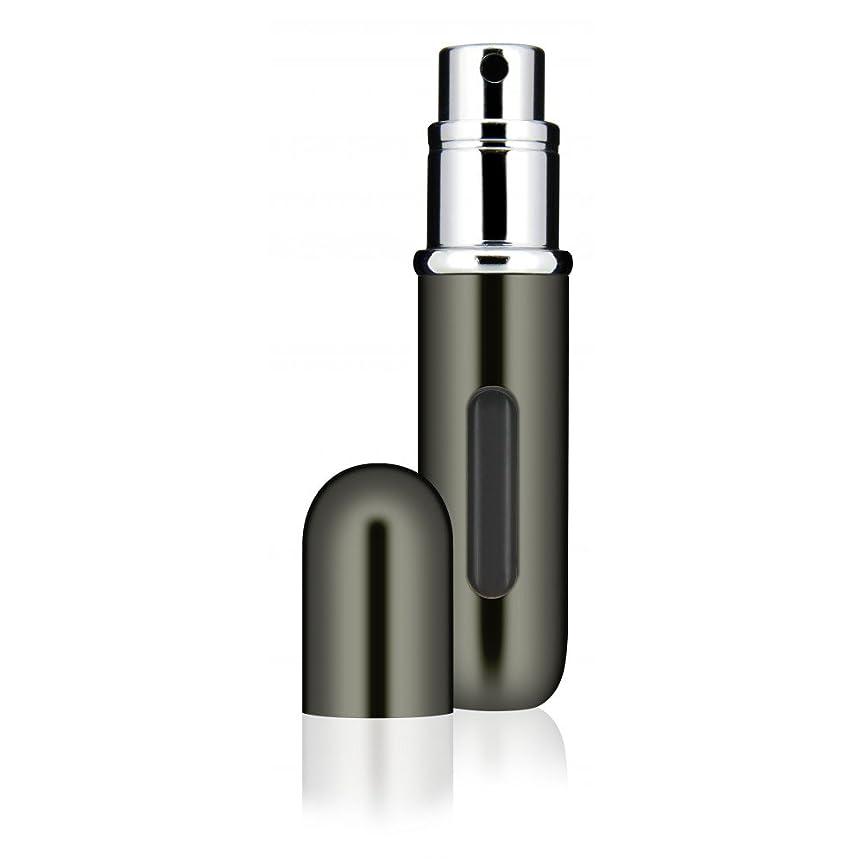 農民瞑想する作家Travalo Classic トラヴァーロ クラシック 香水 10秒チャージ 香水 スプレー 香水 アトマイザー 香水 ボトル 香水 携帯 (Titanium)