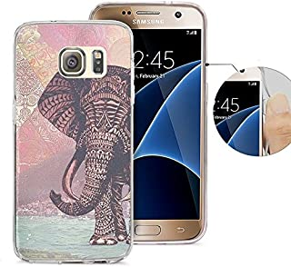 S7 ケース Samsung Galaxy S7 ケース Viwell ソフトケース ラバーシリコン 格言 日々の心配無用 S7-KAA (43)