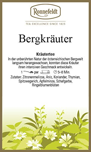 Ronnefeldt - Bergkräuter - Kräutertee - bio - 50g