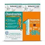Granions Chondrostéo + Articulations Comprimés 80 Jours Glucosamine/Chondroïtine/MSM/Harpagophytum/Bambou Silicium 2 x 120