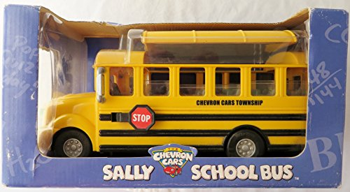 Chevron Cars Sally School Bus with Removable Roof