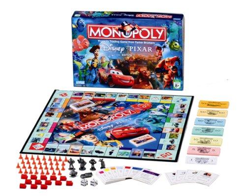 Disney Pixar Monopoly (japan import)