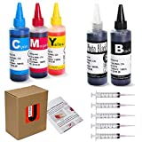 JetSir 5 Color Compatible ink refill kit for Canon 250/251 270/271 280/281 225/226 1200 2200 PG210 CL211 PG245 CL246 ect,Suit PIXMA iP7220 MG7720 TS9020 MG5420 MG5520 MG6420 MX722 MX922 Ect Printer