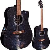 Lindo Galaxy Slim–Guitarra electroacústica con sintonizador...