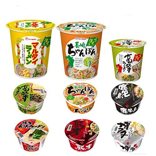 味のマルタイ カップ麺 縦型 ちゃんぽん 高菜ラーメン マルタイ ラーメン ご当地らーめん 6種 12個セット 関東圏