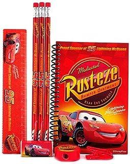 CARS Lightening McQueen Stationary Set (RED)