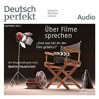 Deutsch perfekt Audio - Über Filme sprechen. 10/2014 cover art
