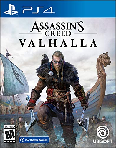 Assassin's Creed Valhalla PlayStation 4 Standard Edition with free upgrade to the digital PS5...