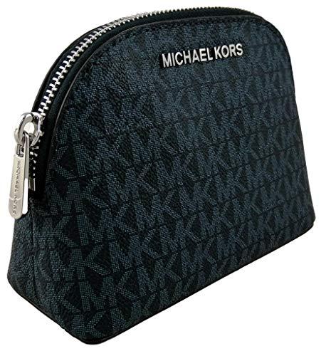 Michael Kors Make-up-Tasche, Reisetasche, PVC, Monogramm Blau Admiral S