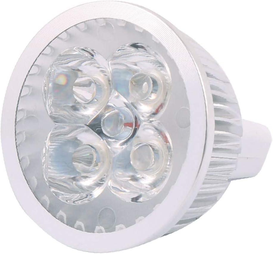 X-DREE Cheap bargain DC 12V 4W MR16 4 LEDs Bulb Spotlight COB Super beauty product restock quality top! Bright Ene Ultra