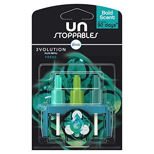 Febreze Unstoppables Plug in Refill Fresh, 20 ml
