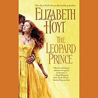 The Leopard Prince audiobook cover art