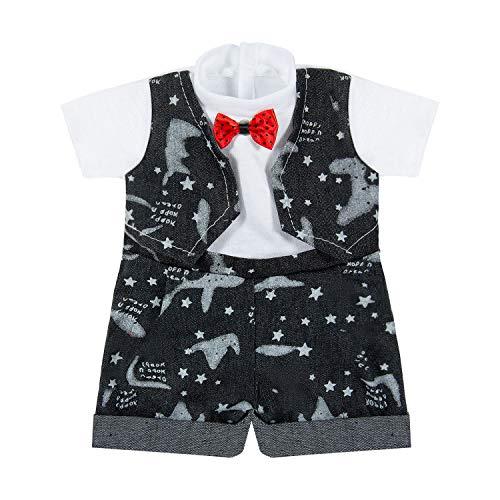 Vordas Puppenkleidung 43 cm Junge Mädchen, Puppenkleidung für New Born Baby Doll (40-45 cm) (Formell)