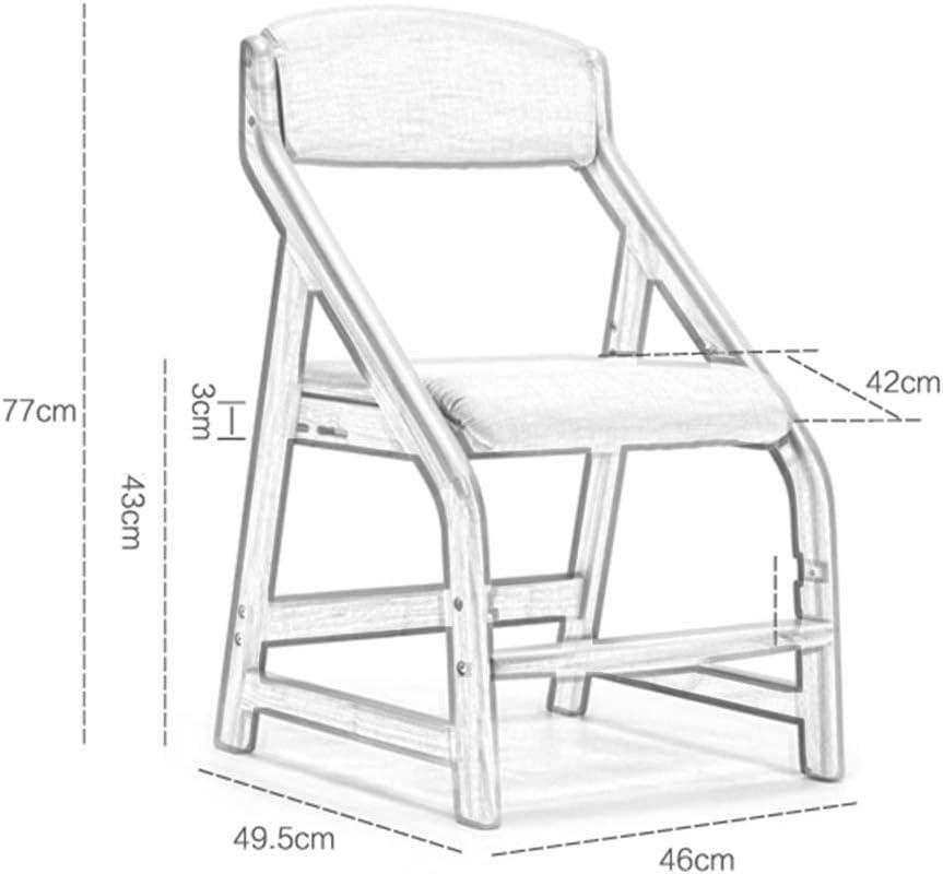 TONG YUE SHOP Chaise étudiante Chaise d'étude en Bois Massif Ascenseur Chaise de Bureau à Domicile Chaise de Bureau d'étude créative Chaise de Salle à Manger (Color : 2) 5