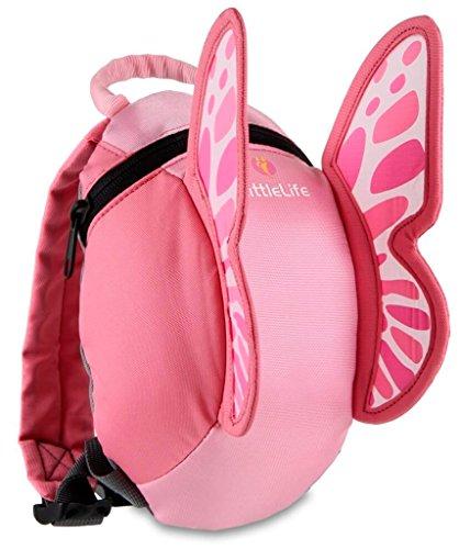 Relags LittleLife Kleinkind-Daypack Animal Kinder-Rucksack, 18 x 14 x 23 cm, Schmetterling