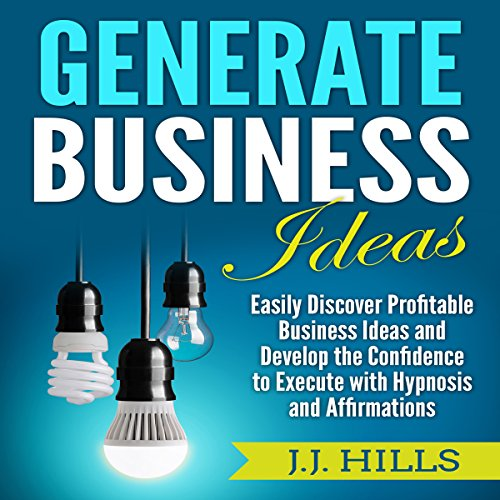 Generate Business Ideas audiobook cover art
