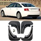 XIANGBAO QI Accesorios 4pcs / Set for Audi A6 (C6) 2006 2007 2008 2009 2010 sedán de la Aleta del Fango aletea al Protector de chapoteo Guardabarros