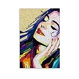 ASDWD Anne Hathaway Goddess Leinwand-Kunst-Poster und