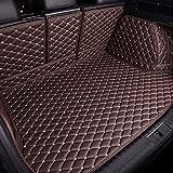 para Audi Q7 7 plazas 2016-2019 2020 Coche Cuero Alfombrilla Maletero Bandeja Maleteros Forro  Cobertura Completa Plegables Impermeable Antideslizantes Alfombrillas Accesorios Estilo