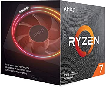 AMD Ryzen 7 3700X 8-Core 16-Thread Unlocked Desktop Processor with Wraith Prism LED Cooler