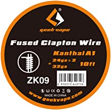 Geekvape Kanthal A1 Fused Clapton Heating Coil Resistance Wire Winding Wire