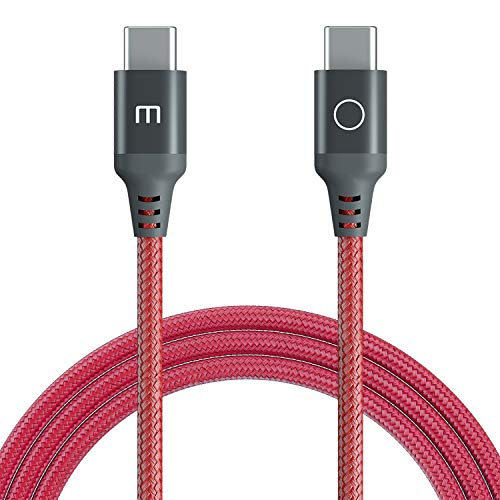 Meizu USB C to USB C 5A/ 100W Cable,USB Type C Charger Cord Compatible with Meizu 17/17Pro Galaxy S20+ Ultra/Note 10+, MacBook Air/Pro 13'', iPad Pro 2020/2018, Google Pixel 2/3/4/5 XL, etc