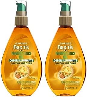 Garnier Fructis Marvelous Oil Color Illuminate 5oz Pump (3 Pack)