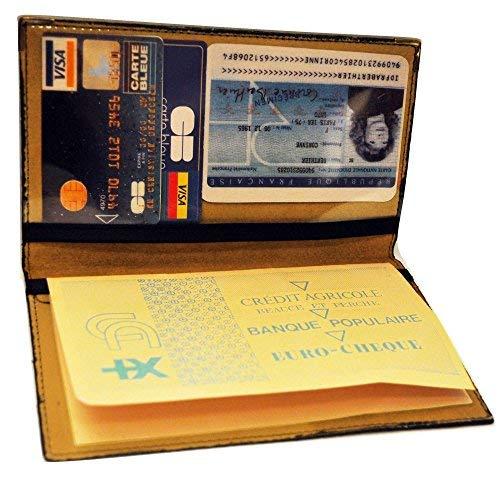 Charmoni Charmoni PabloHülle für Scheckheft, Kreditkarte, Ausweis, Leder Gr. Einheitsgröße, camel