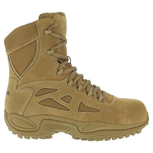 "Reebok Duty Women's Rapid Response Tactical Comp Toe 8"" Boot Coyote - 9 Medium"