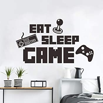 Amazon Com Game Wall Stickers Poster Floss Dancing Wall Decor Peel Game Stick Poster Decals Floss Vinyl Wallpaper For Rooms 18 5 X 16 5 Colorful Kitchen Dining
