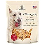 American Paws Chicken Jerky Dog Treats Made in USA All Natural (1 LB)