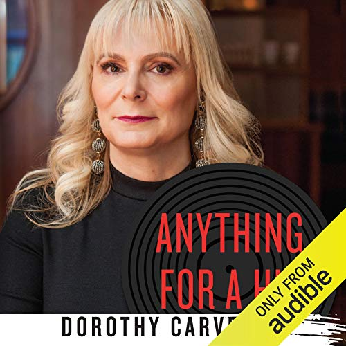 Anything for a Hit     An A&R Woman's Story of Surviving the Music Industry              De :                                                                                                                                 Dorothy Carvello                               Lu par :                                                                                                                                 Traci Odom                      Durée : 7 h et 56 min     Pas de notations     Global 0,0