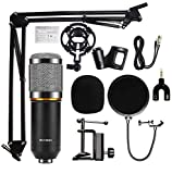 DEVICE OF URBAN INFOTECH BM800 Professional Broadcasting Studio Recording Condenser Microphone Home...