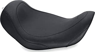 Mustang 76700 Wide Tripper Solo Motorcycle Seat for Harley-Davidson 2006-17, Black
