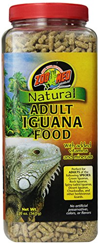 Zoo Med Natural Iguana Food Formula, 40-Ounce, Adult