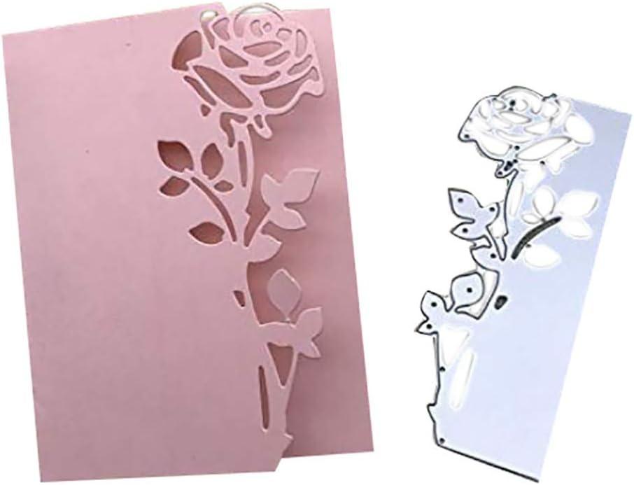 SXFSE Cutting Dies Cross Cutting Dies Stencil Metal Mould Template for DIY Scrapbook Album Embossing Craft Paper Card Making