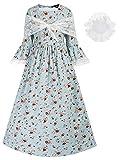 Pioneer Girls Dress Colonial Prairie Costume...